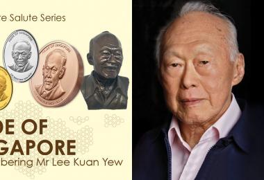 违背李光耀遗愿造纪念章惹争议? 新加坡造币厂紧急下架商品