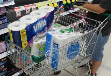 囤积厕所纸