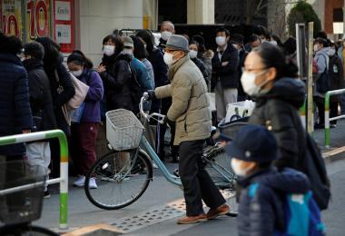 日本人平时就喜欢戴口罩