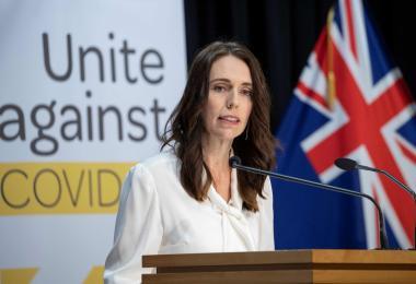 新西兰总理杰辛达阿德恩