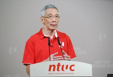 李显龙总理2020五一劳动节献词