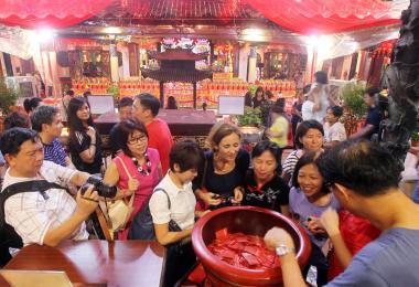 新加坡不同籍贯的华人