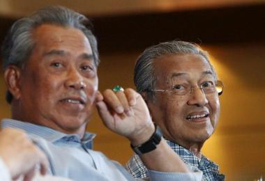 慕尤丁与马哈迪