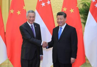 总理李显龙和习近平通电话谈大选、谈经济、谈抗疫