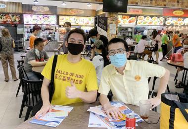 杨耀辉接见选民