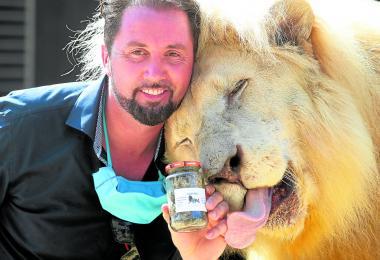德国马戏团售卖灌装狮子排泄物