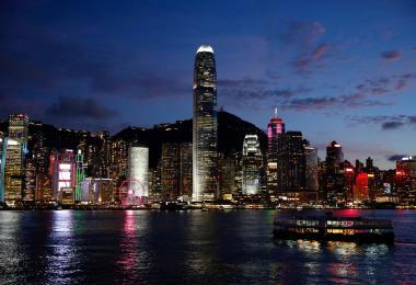 香港靓丽的城市风景线
