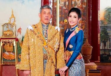 泰王哇集拉隆功与贵妃诗妮娜