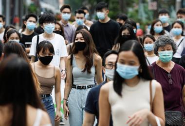 """香港访客去年带来逾5亿新元旅游收入 """"航空泡泡""""对本地经济不无小补"""