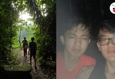 两名少年在麦里芝蓄水池迷路