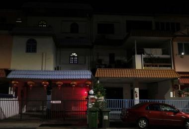 新加坡芽笼红灯区