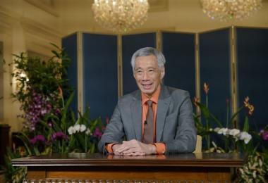 李显龙总理元旦献词