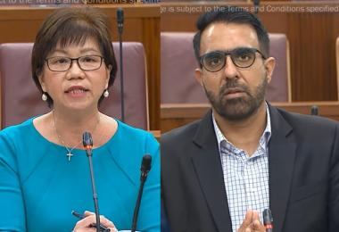 新加坡中区市长 VS 反对党领袖