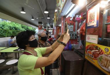 新加坡不会成为一个无现金社会