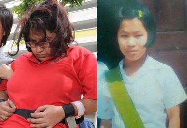 24岁的缅甸女佣磅艾赫多恩被女雇主盖娅蒂丽虐待致死