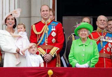 英国女王伊丽莎白二世庆祝90岁生日
