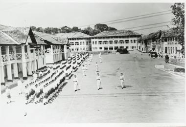 百瑞营圣淘沙酒店原址是一个军事哨站