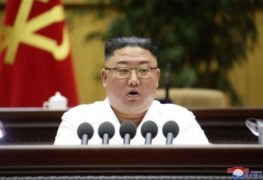 """金正恩在党大会号召大家一起""""苦难行军"""" 朝鲜国内大事不妙?"""