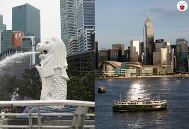新加坡与香港