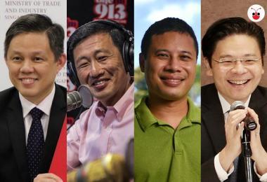 新加坡4G四大天王