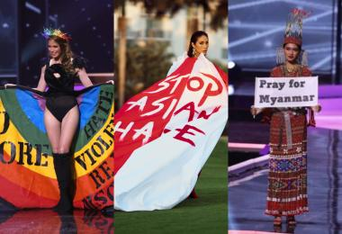 选美不再只是拼美貌? 这三位环球小姐借比赛为政治社会议题发声