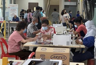 新加坡疫苗接种中心
