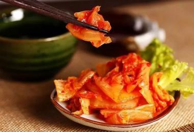 """不想再跟中国泡菜纠缠不清 韩式泡菜中文名改为""""辛奇"""""""