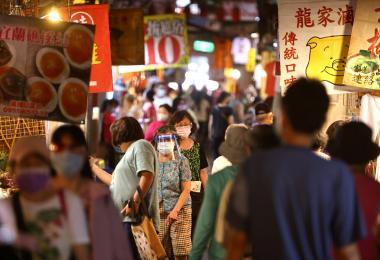 台湾冠病疫情逐渐缓和