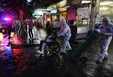 Delta变种毒株导致泰国疫情加剧