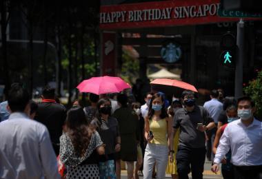 问你怕不怕? 新加坡气温70年来上升1.8摄氏度,高于全球平均!