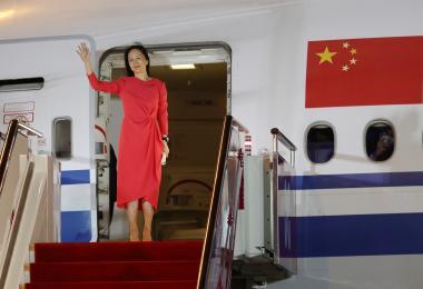 """""""孟晚舟获释""""中美两样情:一边是""""强国胜利"""",一边是总统被呛软弱"""