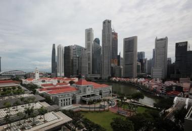 鸟瞰新加坡国会