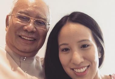 纳吉获马国法庭批准来新陪女儿临盆 网民:他是妇产科专家?
