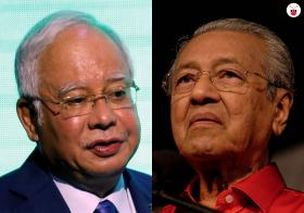 Mahathir and Najib