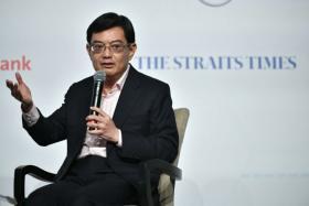 Heng Swee Kiat at ST Forum