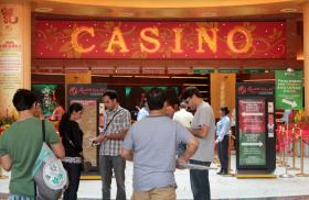 Foreign workers at Casino