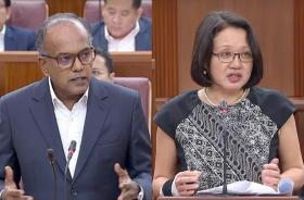 K Shanmugan and Sylvia Lim