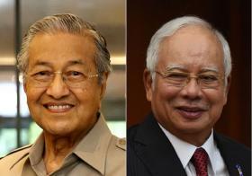 Mahathir & Najib Election