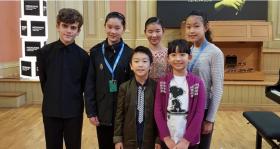 梅纽因国际小提琴比赛初级组六强