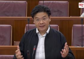 MND Minister Lawrence Wong