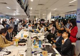 International media - the anticipation
