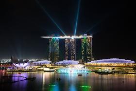 Singapore Skyline - MBS