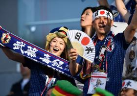 World Cup Japanese Supporters