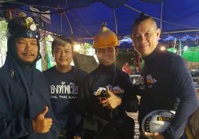 新加坡潜水教练杨家福参与泰国清莱洞穴营救