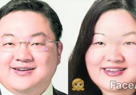 刘特佐变身大妈,喜感十足。(FaceApp)