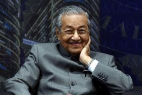 马来西亚首相马哈迪。(中国报)