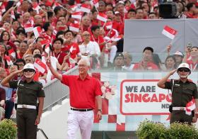 Goh Chok Tong at NDP2018