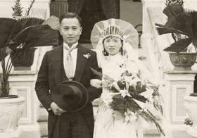 1931 Marriage at Buitenzorg