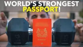 新加坡护照全球排名第一