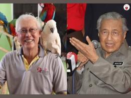 Goh Chok Tong and Mahathir